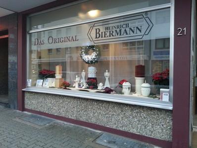 Bestattungshaus Biermann in Hanau von außen